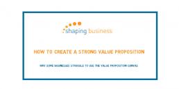 value proposition model