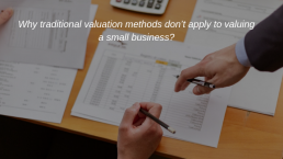 valuing a small business